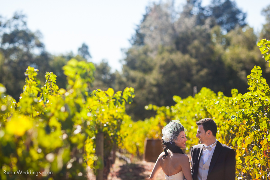A Little Blue Box Wedding Happily Ever After: Beautiful Wine Country Wedding